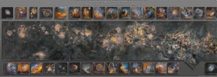 Bức ảnh chụp dải Ngân Hà tốn 12 năm thực hiện, 1250 giờ phơi sáng ảnh 1