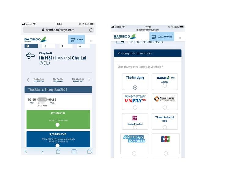 Giảm ngay 500.000 đồng khi thanh toán vé bay Bamboo Airways bằng thẻ quốc tế SHB ảnh 1