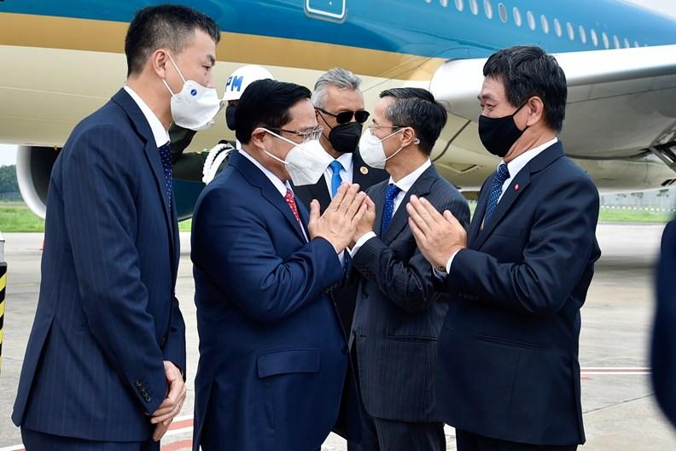 Thủ tướng Chính phủ Phạm Minh Chính kết thúc chuyến công tác tham dự Hội nghị các Nhà Lãnh đạo ASEAN ảnh 1