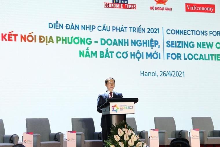 Tìm giải pháp hút dòng vốn FDI tại Diễn đàn Nhịp cầu phát triển 2021 ảnh 2
