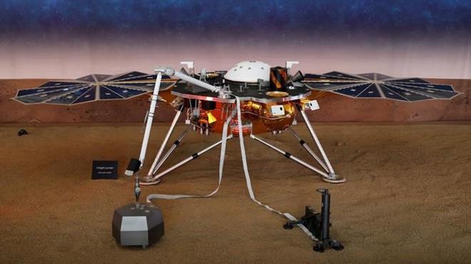 NASA lần đầu phát hiện dấu hiệu 'động đất' trên Sao Hỏa ảnh 1