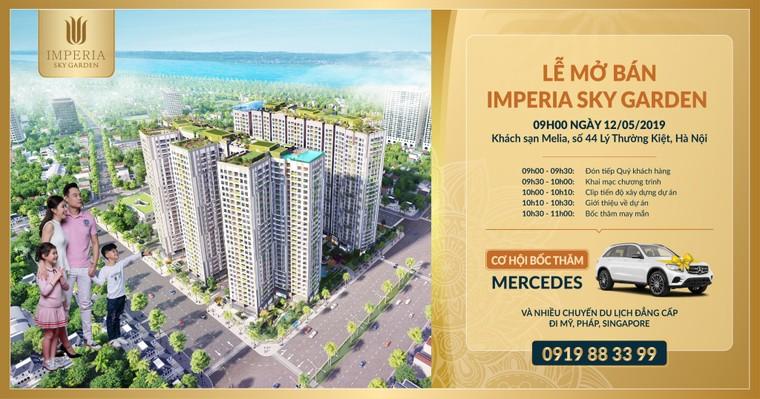 Dự án Imperia Sky Garden 'gây sốc' với chương trình mua nhà tặng Mercedes sang trọng ảnh 1