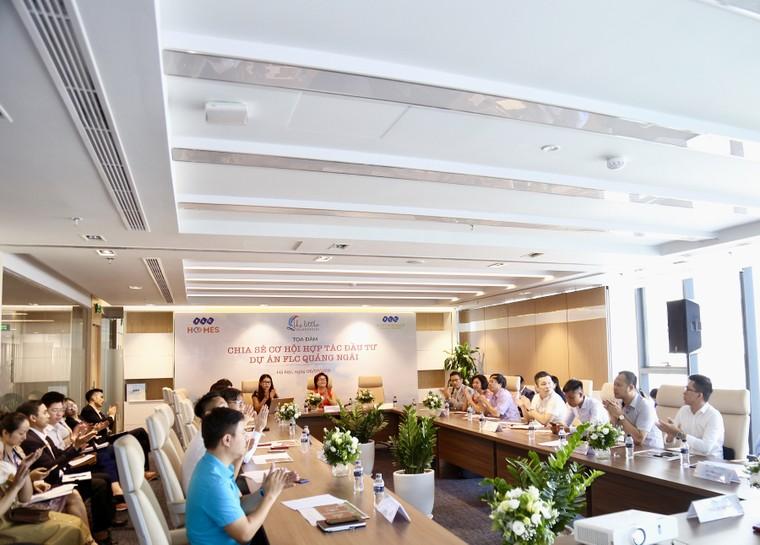 Xúc tiến gặp mặt đối tác chiến lược 3 miền, siêu dự án FLC Quảng Ngãi chính thức khởi động ảnh 1