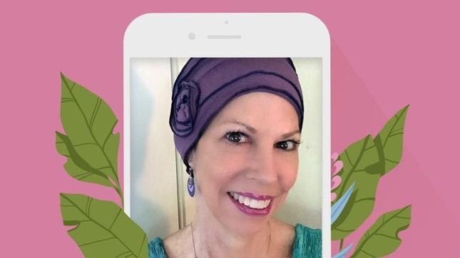 Sống chung với ung thư vú nhờ... app ảnh 2