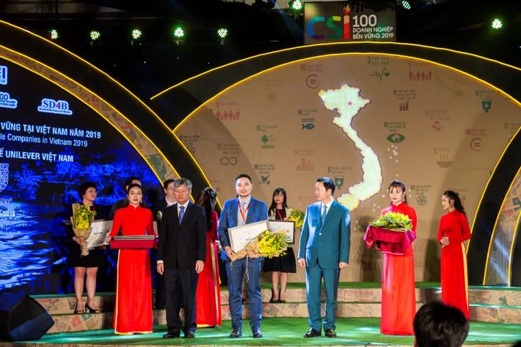 Unilever Việt Nam được vinh danh 'Top 10 doanh nghiệp bền vững nhất Việt Nam năm 2019' ảnh 1