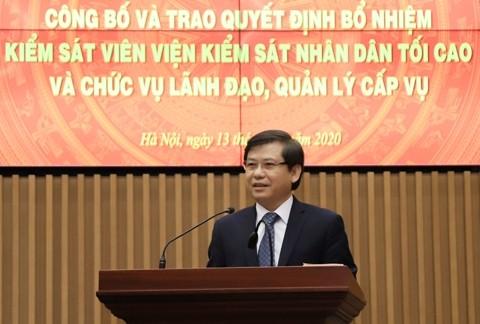 Công bố quyết định của Chủ tịch nước về công tác cán bộ ảnh 2