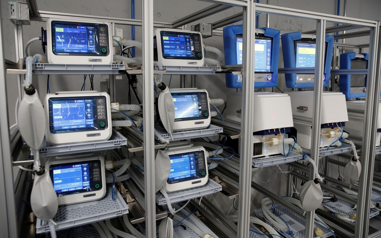 Hàng nghìn máy thở trong kho dự trữ Mỹ bị hỏng ảnh 1
