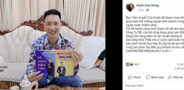 Cục Xuất bản đề nghị làm rõ 2 cuốn sách lậu của Huấn 'Hoa Hồng' ảnh 1