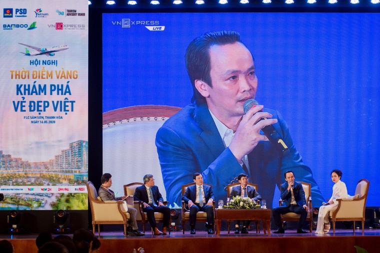 Ông Trịnh Văn Quyết: Tôi chỉ thích đi du lịch Việt Nam ảnh 1