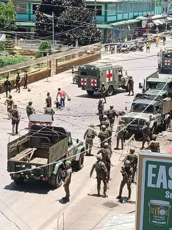 Đánh bom kép ở Philippines, ít nhất 10 người chết ảnh 1