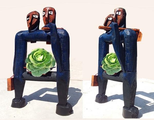 Triển lãm điêu khắc Hà Nội - Sài gòn 2020: Dấu ấn 10 năm ảnh 1