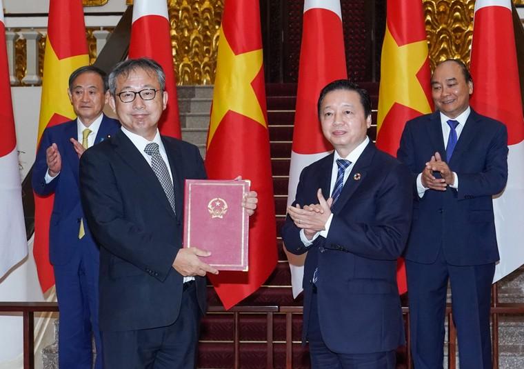 Lễ đón chính thức thủ tướng Nhật Bản thăm chính thức Việt Nam ảnh 12