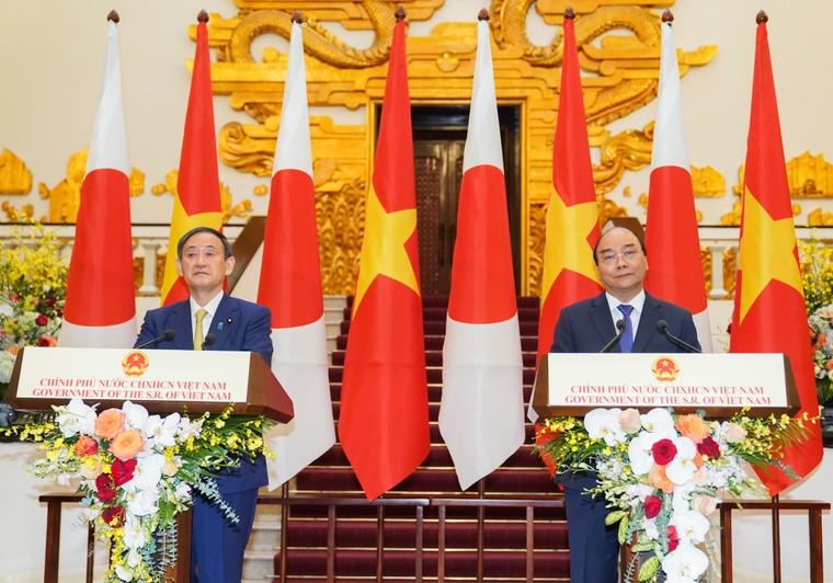 Lễ đón chính thức thủ tướng Nhật Bản thăm chính thức Việt Nam ảnh 13