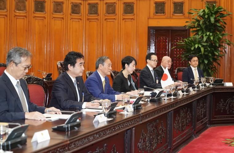 Lễ đón chính thức thủ tướng Nhật Bản thăm chính thức Việt Nam ảnh 10
