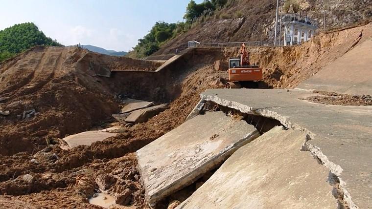 Nguyên nhân ban đầu trong sự cố vỡ kênh Bắc sông Chu-Nam sông Mã ảnh 1