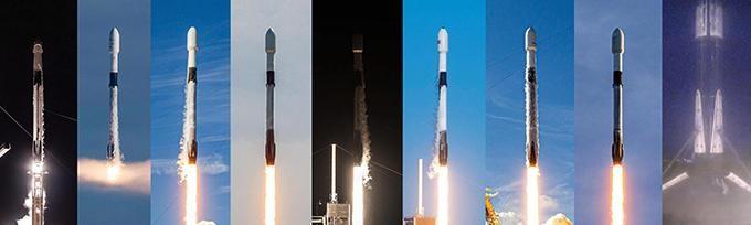 Tên lửa SpaceX phóng thành công lô vệ tinh thứ 22 ảnh 1