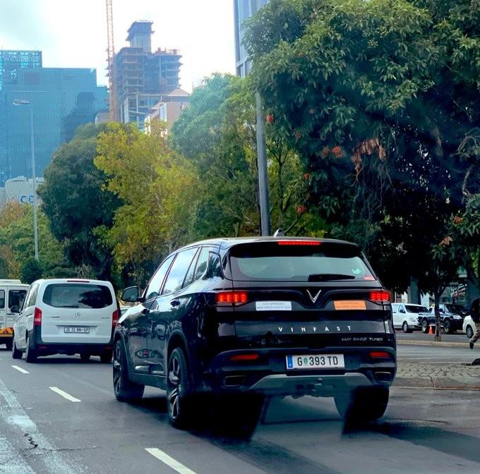 Xuất hiện hình ảnh Vinfast LUX SA 2.0 chạy thử ở Nam Phi ảnh 2