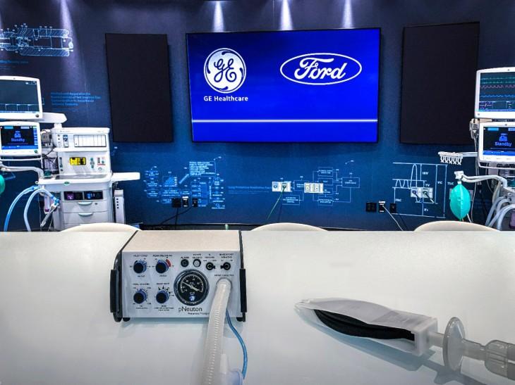 Ford hợp tác với GE sản xuất 50.000 máy thở trong 100 ngày ảnh 2