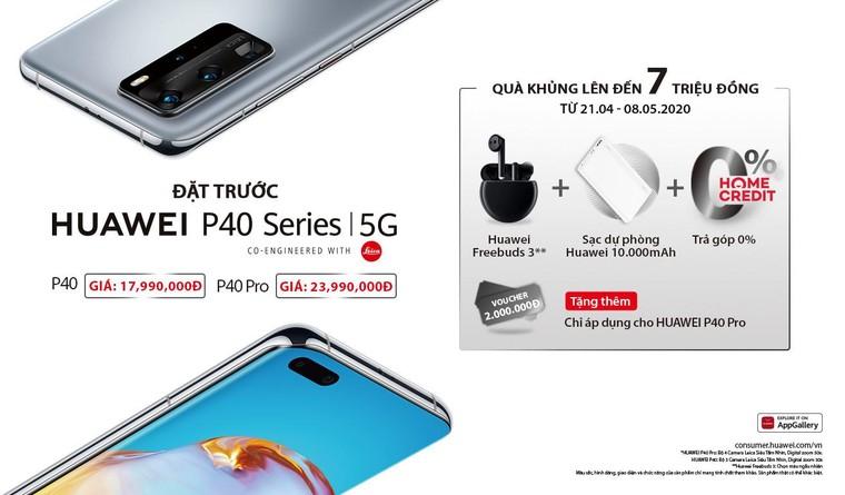Huawei P40 Series chính thức ra mắt tại Việt Nam ảnh 1