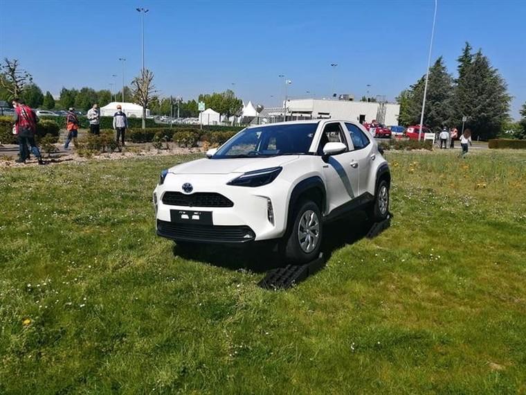 Hình ảnh ngoài đời thực của Toyota Yaris Cross mới