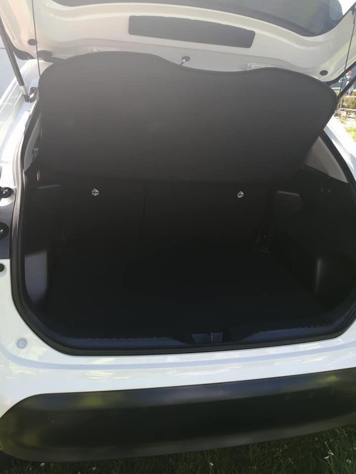 Khoang hành lý của Toyota Yaris Cross 2021