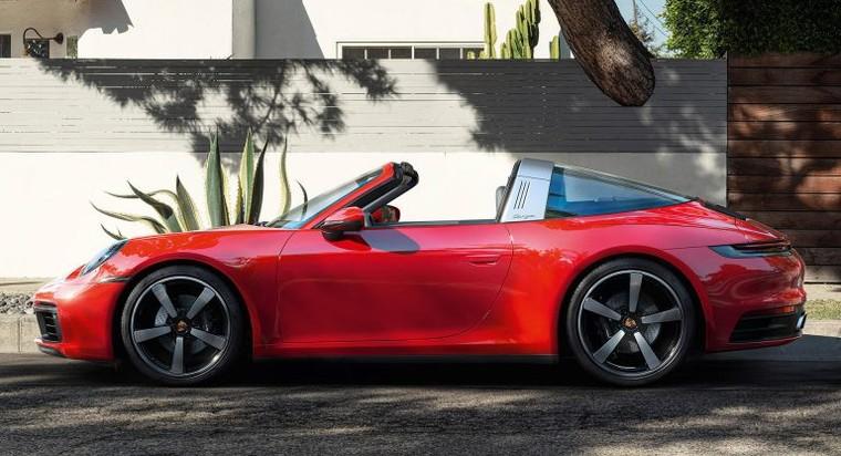 Porsche 911 Targa 4 và Targa 4S 2021 với dáng vẻ hoài cổ ảnh 1