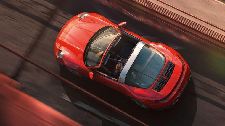 Porsche 911 Targa 4 và Targa 4S 2021 với dáng vẻ hoài cổ ảnh 2