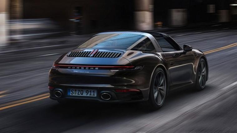 Porsche 911 Targa 4 và Targa 4S 2021 với dáng vẻ hoài cổ ảnh 5