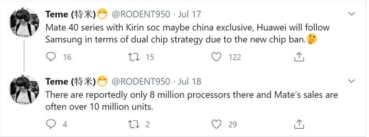 Huawei không có đủ chip để sản xuất Mate 40 ảnh 1