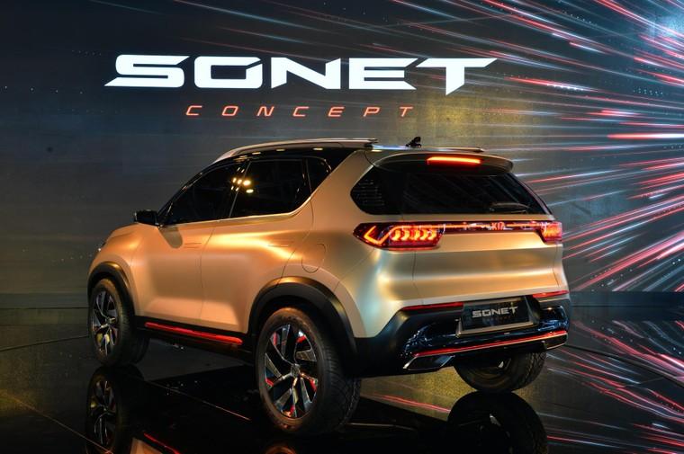 Kia Sonet - mẫu SUV cỡ nhỏ nhà Kia sắp trình làng ảnh 3