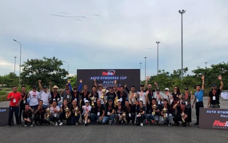 Series giải đua Auto Gymkhana được tổ chức tại Việt Nam dưới hình thức câu lạc bộ ảnh 1