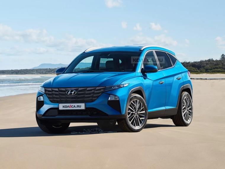 Hyundai Tucson 2021: Thế hệ Tucson mới sẽ được ra mắt trong năm nay? ảnh 1