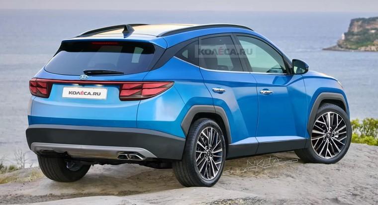 Hyundai Tucson 2021: Thế hệ Tucson mới sẽ được ra mắt trong năm nay? ảnh 2