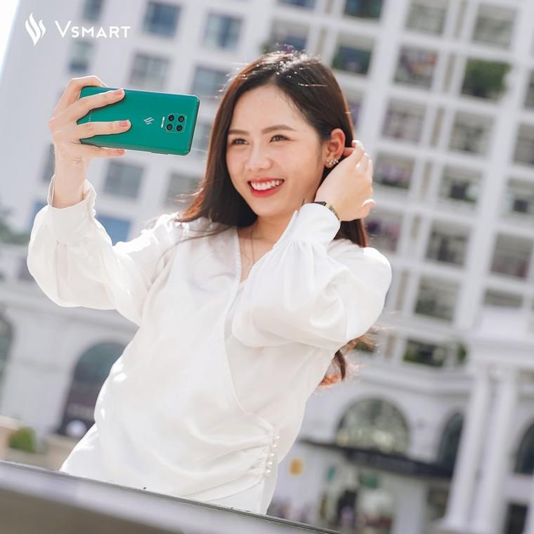 Vsmart Aris Pro camera ẩn dưới màn hình sẽ được bán ra vào tháng 10 ảnh 7