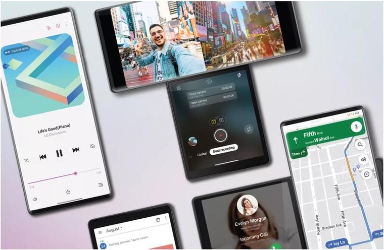 LG Wings chưa công bố giá bán, LG đã tiết lộ thời điểm ra mắt chiếc điện thoại có thể cuộn màn hình ảnh 2
