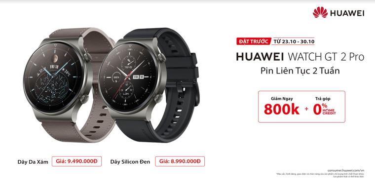 Huawei ra mắt đồng hồ thông minh cao cấp tại Việt Nam – HUAWEI WATCH GT 2 Pro ảnh 7