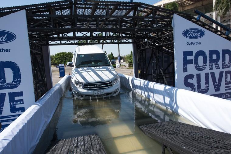 Ford SUV Drive 2020 - trải nghiệm off-road khác biệt trên địa hình mô phỏng thực tế ảnh 2