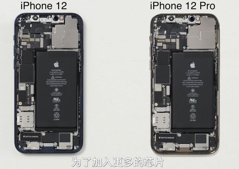 iPhone 12 và iPhone 12 Pro có thiết kế cấu tạo giống nhau ảnh 1