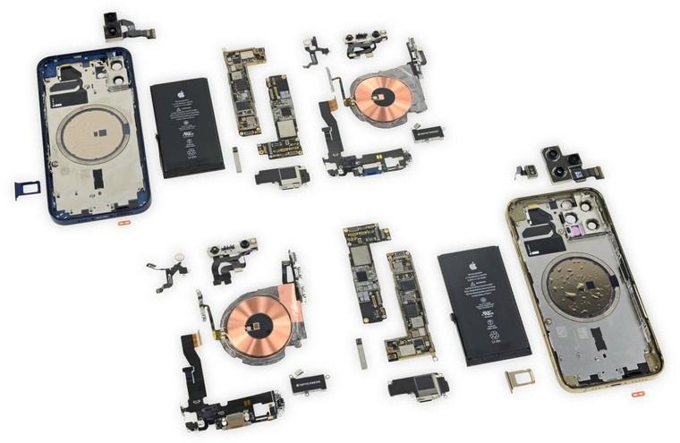 iPhone 12 và iPhone 12 Pro có thiết kế cấu tạo giống nhau ảnh 4