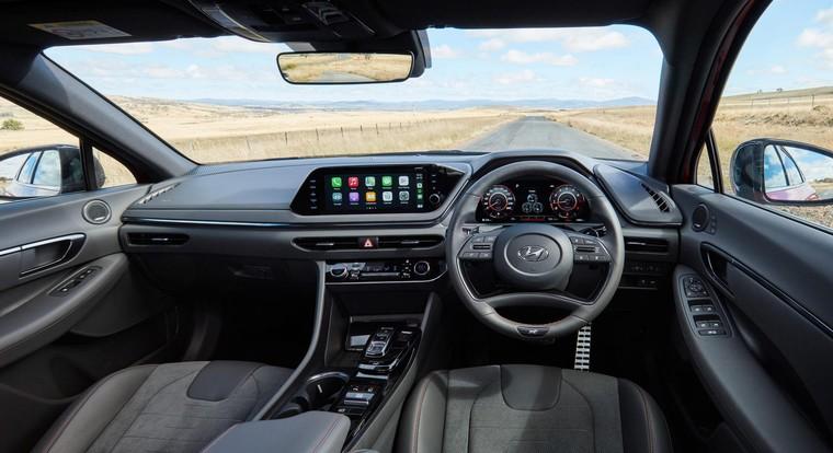 Hyundai Sonata N Line 2021 ra mắt, giá từ 900 triệu đồng ảnh 2