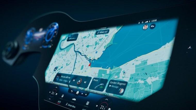 Mercedes EQS sẽ có 'siêu màn hình' kích thước lên tới 56 inch ảnh 4