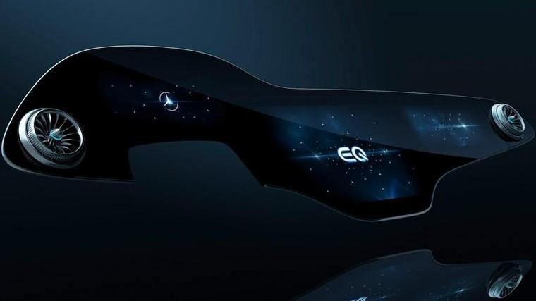 Mercedes EQS sẽ có 'siêu màn hình' kích thước lên tới 56 inch ảnh 1