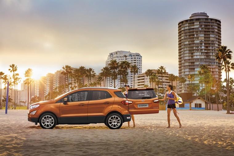 Ford EcoSport: Ngôn ngữ thiết kế thực dụng, mang đến trải nghiệm thân thiện với mọi gia đình ảnh 3