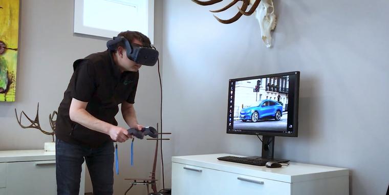Đội ngũ thiết kế của Ford làm việc tại nhà thông qua công nghệ thực tế ảo ảnh 2