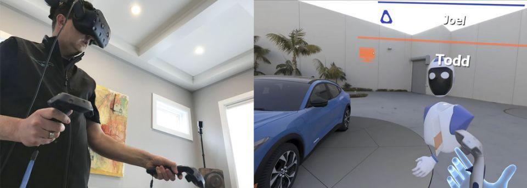 Đội ngũ thiết kế của Ford làm việc tại nhà thông qua công nghệ thực tế ảo ảnh 1