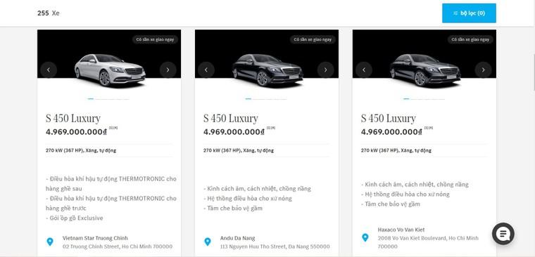 Mercedes-Benz Việt Nam ra mắt nền tảng thương mại điện tử ảnh 2