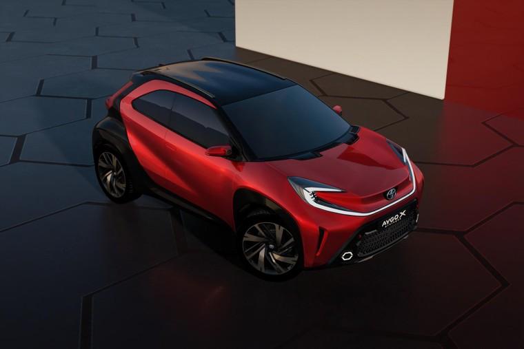 Toyota lộ diện mẫu Crossover cỡ nhỏ mới với thiết kế lạ mắt ảnh 1