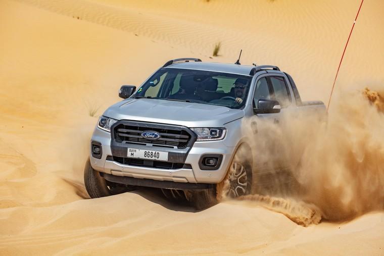 Thử nghiệm Ford Ranger tại nơi nóng nhất trên hành tinh ảnh 2