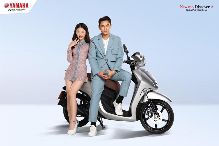 Ca sĩ Amee trở thành đại sứ thương hiệu của xe tay ga Yamaha Janus ảnh 2