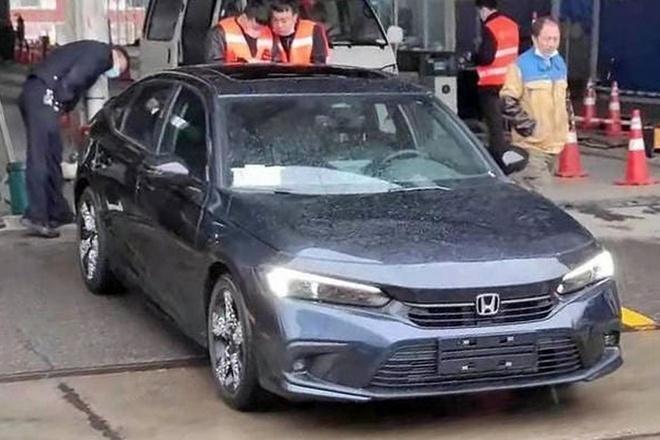 Honda Civic 2022 sẽ có tuỳ chọn màu sắc phụ thuộc từng phiên bản ảnh 2
